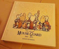 Been so busy working I never got to show you this beauty. @mouseguard is the best! This is chock full of art goodness. by tessfowler7