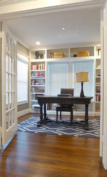 1000 images about study on pinterest craftsman homes for Craftsman style office