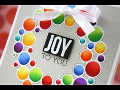 Video by Laura Bassen using New Simon Says Stamp from the Create Joy release.