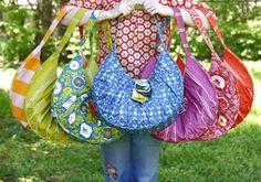 Anna Maria Horner - Sidewalk Satchel - Bag Pattern    DROOL!