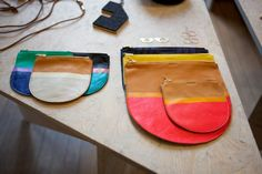these are so cute. baggu pouches via www.sightunseen.com photography by Mark Iantosca