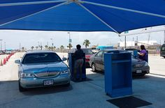 Galveston Texas Port Car Parking