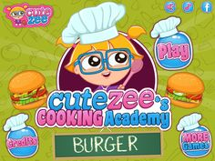 Learn how to make a burger! http://www.cutezee.com/cutezee-cooking-academy-burger?ref=index