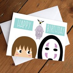 Spirited Away Happy bday by CherryOnTopDsgns on Etsy