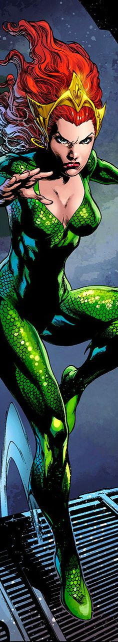 Mera in Aquaman Vol 7 # 12 - Art by Ivan Reis, Joe Prado, Andy Lanning, Jonathan…