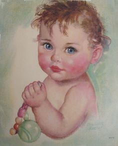 Charlotte Becker - Blue Eyed Baby.