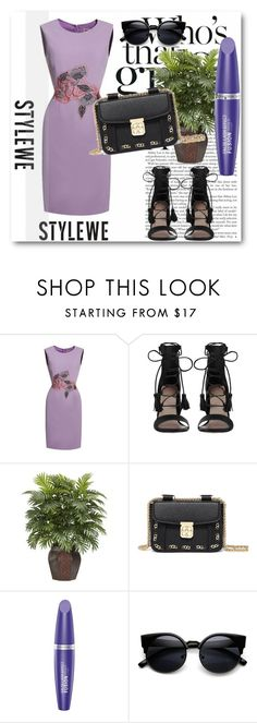 """""""StyleWe!"""" by dianagrigoryan ❤ liked on Polyvore featuring Zimmermann, Nearly Natural and Max Factor"""