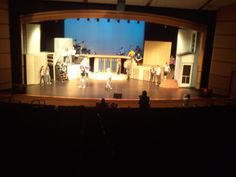 Footloose Stage Set Design, Pre Production, Hercules, Mirror, The Originals, Plays, Theater, Island, Costumes