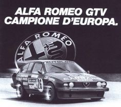 The Alfetta GTV6 2500 won 4 times the ETC Manufactures championship, from 1982 to 1985.