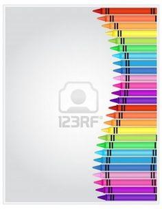 design of crayons