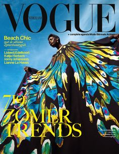 Kinee Diouf for Vogue Netherlands July 2013.