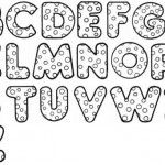 alfabeto molde