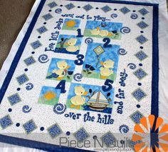 Piece N Quilt: 5 Little Ducks Went Out To Play.....