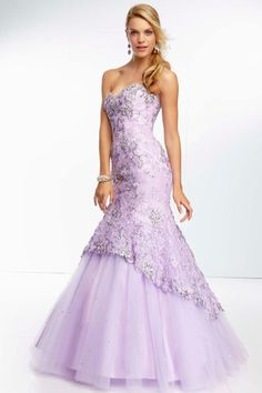 2014 Elegant Long All Over Lace And Tulle With Beading Prom Dress Corset Tie Back
