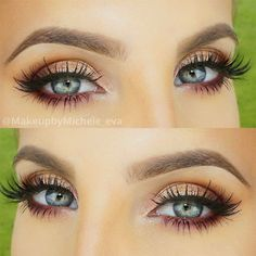 Want sexy eyes makeup for your next night out? We have collected a great gallery of makeup looks for various occasions. Get inspired with our ideas. #makeupideas #sexymakeup #eyesmakeup