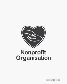 EXKLUSIVES Logo Tierschutz Nonprofit Organisation Non Profit, Logos, Logo Design, Organization, Animal Welfare, Business Cards, Logo