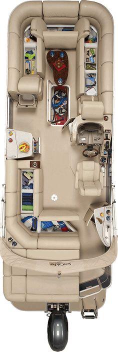 Elite 326 C | SunCatcher Pontoons by G3 Boats
