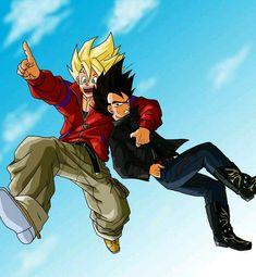 Goku and Vegeta Goku Y Vegeta, Son Goku, Dragon Ball Z, Dbz Characters, Fanarts Anime, Anime Fantasy, Anime Comics, Kawaii Anime, Manga