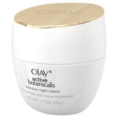 "Olay Active Botanicals Intensive Night Cream: If you have some skin discoloration, Dr. Jaliman suggests Olay Active Botanicals Intensive Night Cream. It contains niacinamide (also known as B3), which can help even out skin tone while also improving fine lines. ""This is a good choice for a woman with lines in her 30s,"" she says."