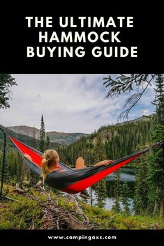 The Ultimate Hammock Buying Guide camping hammock - Camping Camping Needs, Tent Camping, Camping Hacks, Camping Guide, Camping Gear, Backpacking Meals, Ultralight Backpacking, Camping Essentials, Best Camping Hammock