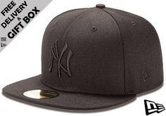 a9513d54c1d Black on Black 5950 NY Yankees Cap http   www.ebay.co