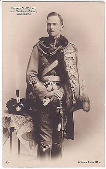 Prince Charles Edward (1884 - 1954). Son of Prince Leopold and Helena of Waldeck and Pyrmont. He married Victoria Adelaide of Schleswig-Holstein and had five children.