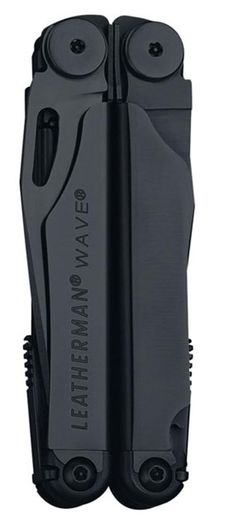 I could write the ads for this, the best multitool ever.  Leatherman Wave in Black. ~$80