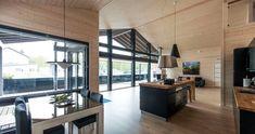 Das Fachwerkhaus der oberen Preisklasse Cottage Homes, Log Homes, Scandinavian Style, Modern Farmhouse, My House, Beautiful Homes, Relax, Cabin, Luxury