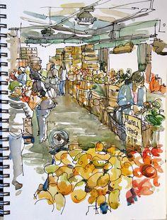 Milk Pail Market, Mountain View, California by suhita1, via Flickr.