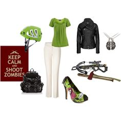 Zombies are Coming! Just b/c it's the Zombie Apocalypse doesn't mean you can't still look cute! ;)