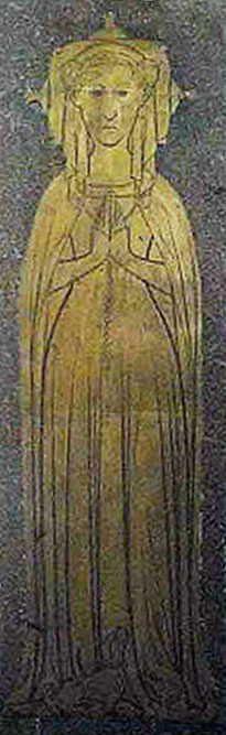 Margaret Naunton  1355–1405    BIRTH 1355 • Aspall, Suffolk, England  DEATH 1405 SEP 03 • Aspall, Suffolk, England  20th great-grandmother. Burial: St. Mary's Churchyard, Rougham, Suffolk, England (Eddy Family) Husband: Roger Drury 'Sir Knight'