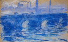 Claude Monet, Waterloo Bridge, 1899, Drawing