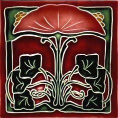 victorian tiles via la belle epoque
