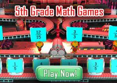 5th Grade Math Games - Kids Math Games Online…you do need to sign up, but it is free.