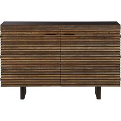 Paloma Small Sideboard in Buffets, Sideboards | Crate and Barrel... Like the multi color unique look, simple design with unique touches