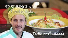 Springlane Online Kochschule mit Chakall. Rezept: Brasilianier Bobo