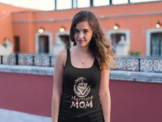 """Mermaid MOM -T-shirt.  Mothers Day 2017 Do you like Mermaid? Then this """"Mermaid MOM"""" -T-shirt is perfect for you!  Wear it Proud, Wear a Loud!  This Ends very soon, So don't miss out on a Limited Edition Tee! *  Guaranteed Satisfaction + Safe and Secure Checkout via PayPal/Visa/MasterCard* When you pres the big green button, you will be able to choose your size (s).  Be sure to order before we run out of stock! Having trouble ordering? Contact our customer support team' TEESPRING"""