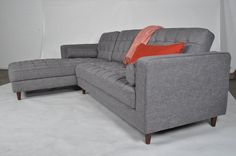 Brompton Sectional Sofa (Ash Grey - Left Facing Chaise) - TB3 Home