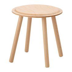 IKEA - ИКЕА ПС 2017, Придиванный столик/табурет, Табурет можно использовать как подставку для симпатичных мелочей, журнальный столик или дополнительный стул, когда у вас гости.Легко собрать – инструменты и шурупы не нужны.