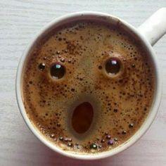 Shocked coffee