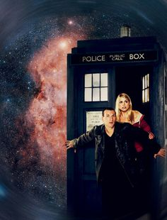 The 9th Doctor & Rose Tyler.