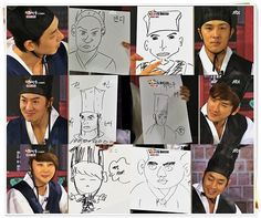 Haahahaha Eric is the best drawing ♥