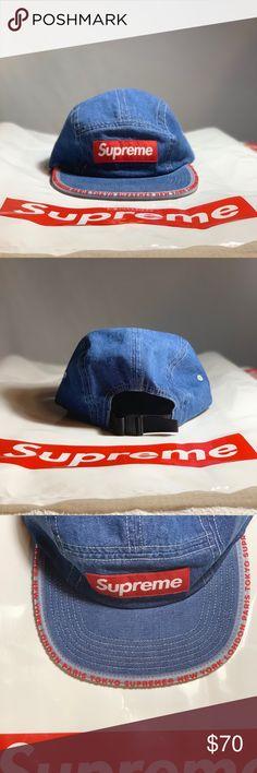 da6b02f6ecc Supreme Worldwide Camp Cap Never Used Supreme Cap Supreme Accessories Hats