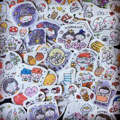 季節行事【スケジュール帳2フレークシール】 Japanese Funny, Cute Journals, Pen Illustration, Japanese Drawings, Anime Animals, Journal Pages, Scrapbooks, Diy And Crafts, Doodles