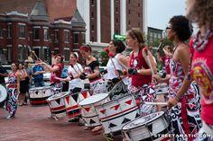 Batala drummers - U Street - DC