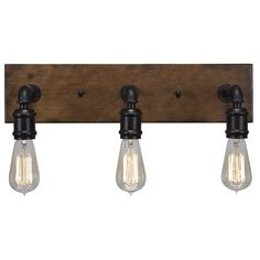 You'll love the Portland 3 Light Vanity Light at Wayfair - Great Deals on all Lighting  products with Free Shipping on most stuff, even the big stuff.