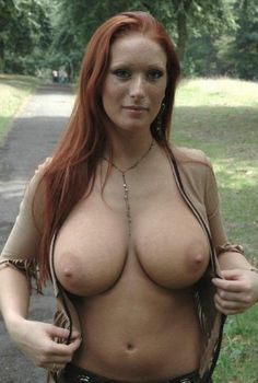 Red head milf tits ass