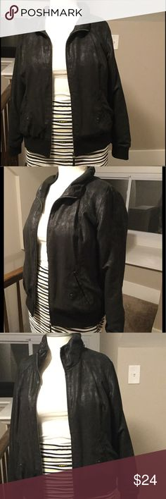 Stunning DKNY Moto jacket! Awesome moto jacket by DKNY! Only worn a few time. Perfect to dress up or down this fall! Size 14/16! Great addition to your wardrobe! Dkny Jackets & Coats