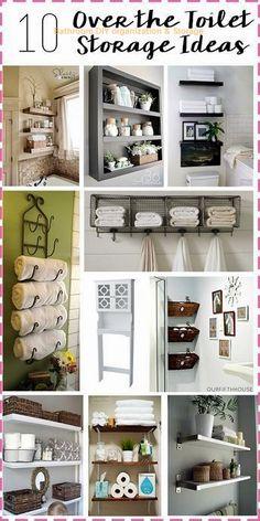 Small Bathroom Storage, Diy Bathroom Decor, Bathroom Organization, Bathroom Ideas, Organization Ideas, Bathroom Interior, Bathroom Closet, Remodel Bathroom, Bedroom Storage