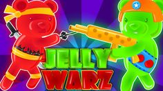 jelly bears | jelly warz | learn numbers | numbers song | nursery rhymes...